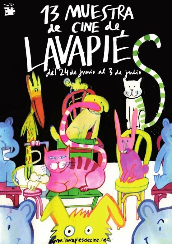 Cartel 13 Muestra de Cine de Lavapiés
